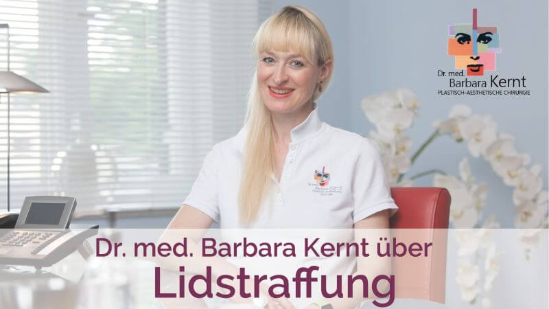 lidstraffung video dr. barbara kernt münchen